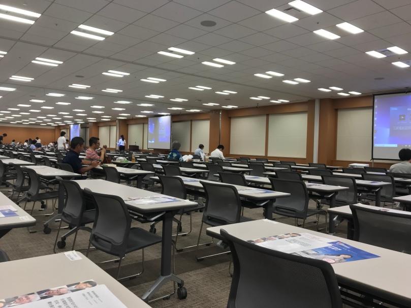 賃貸管理士講義の会場